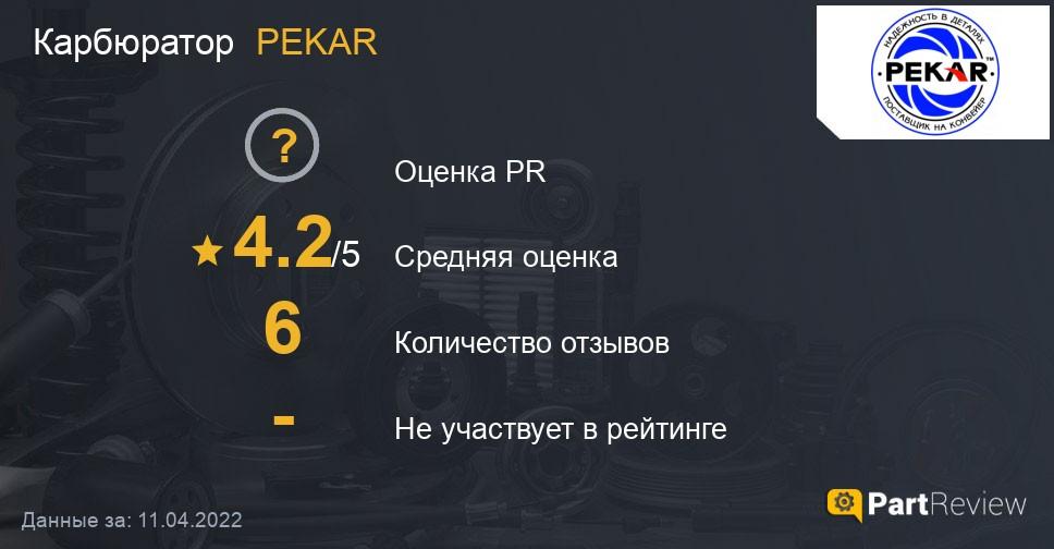Отзывы о карбюраторах PEKAR